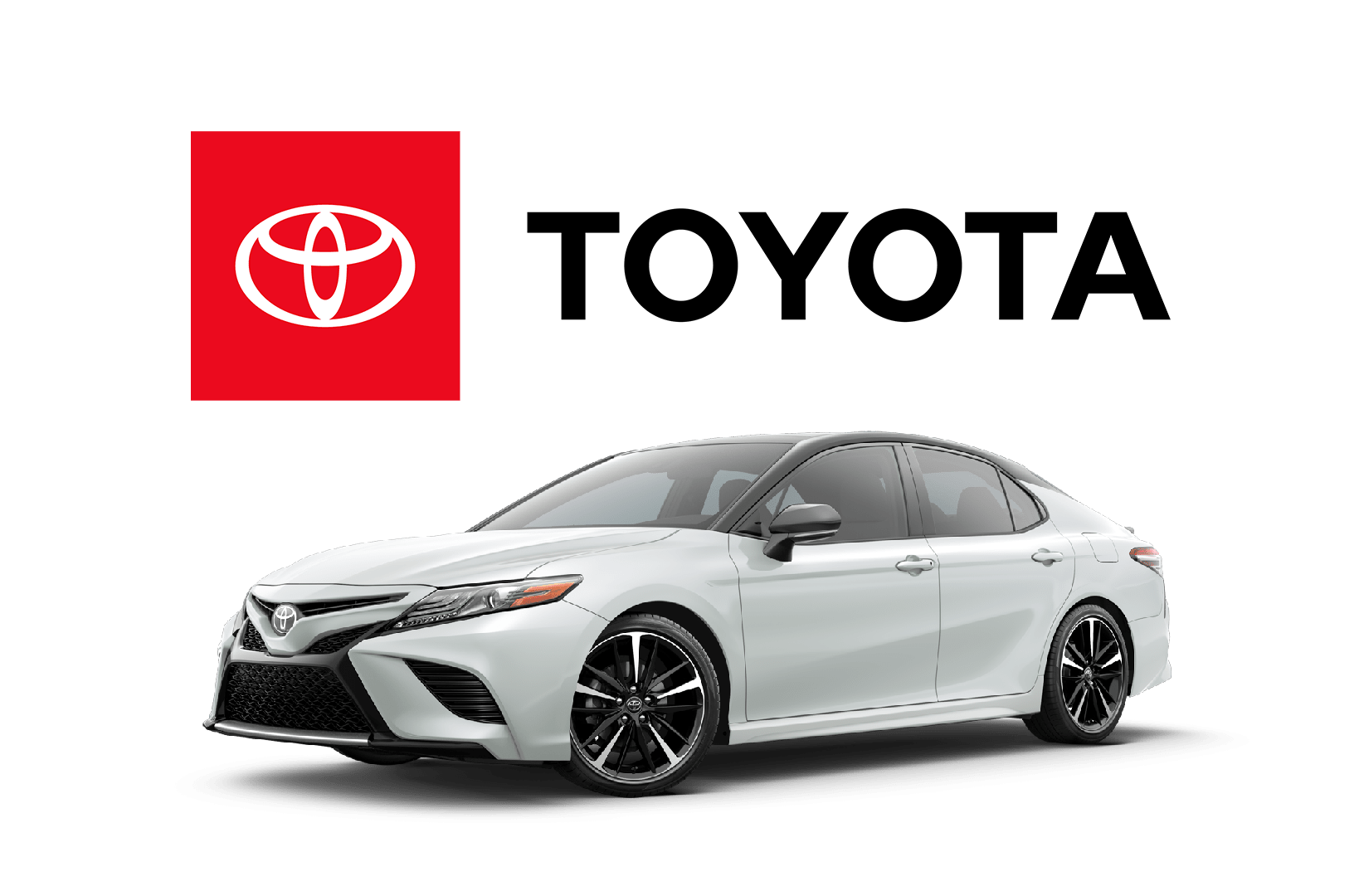 Toyota Car And Logo Image
