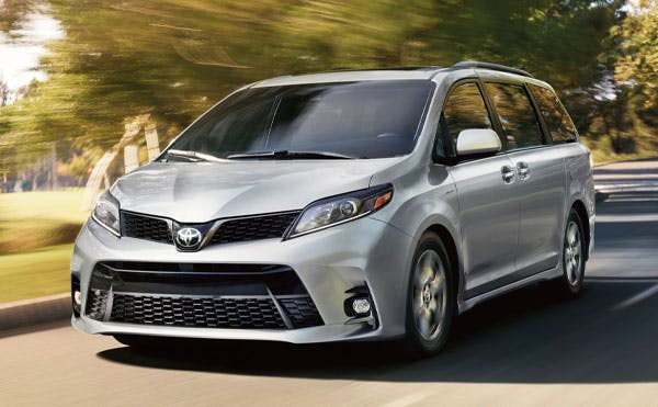 features of the 2020 toyota sienna - blog post image