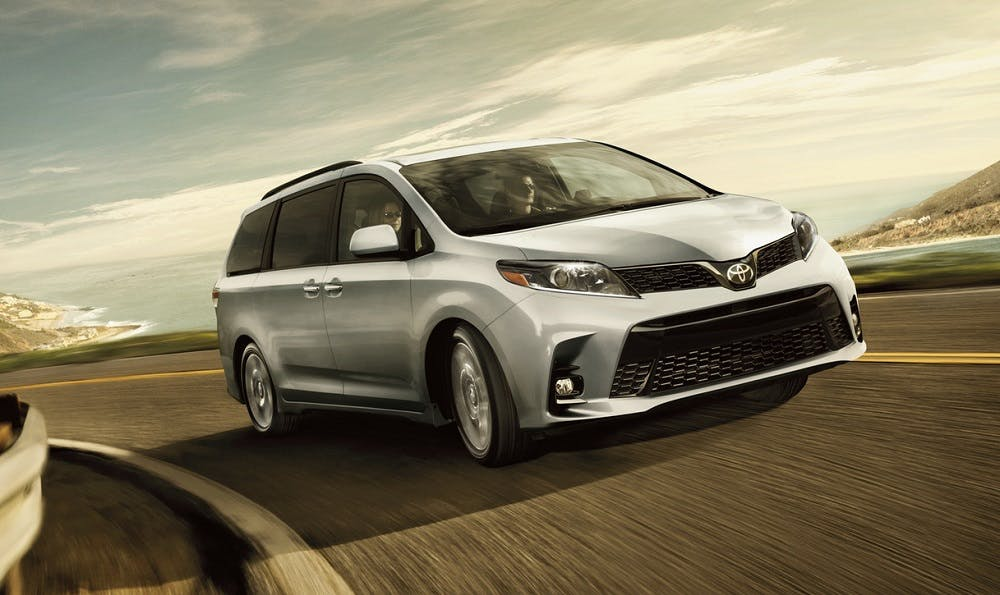 Test drive the 2020 Toyota Sienna near Pittsburgh PA