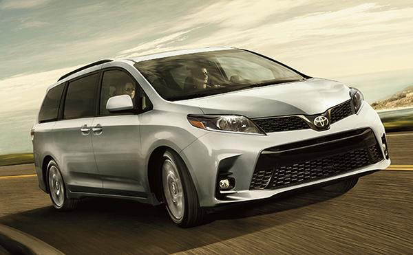 variety of trims with the 2020 toyota sienna - blog post image