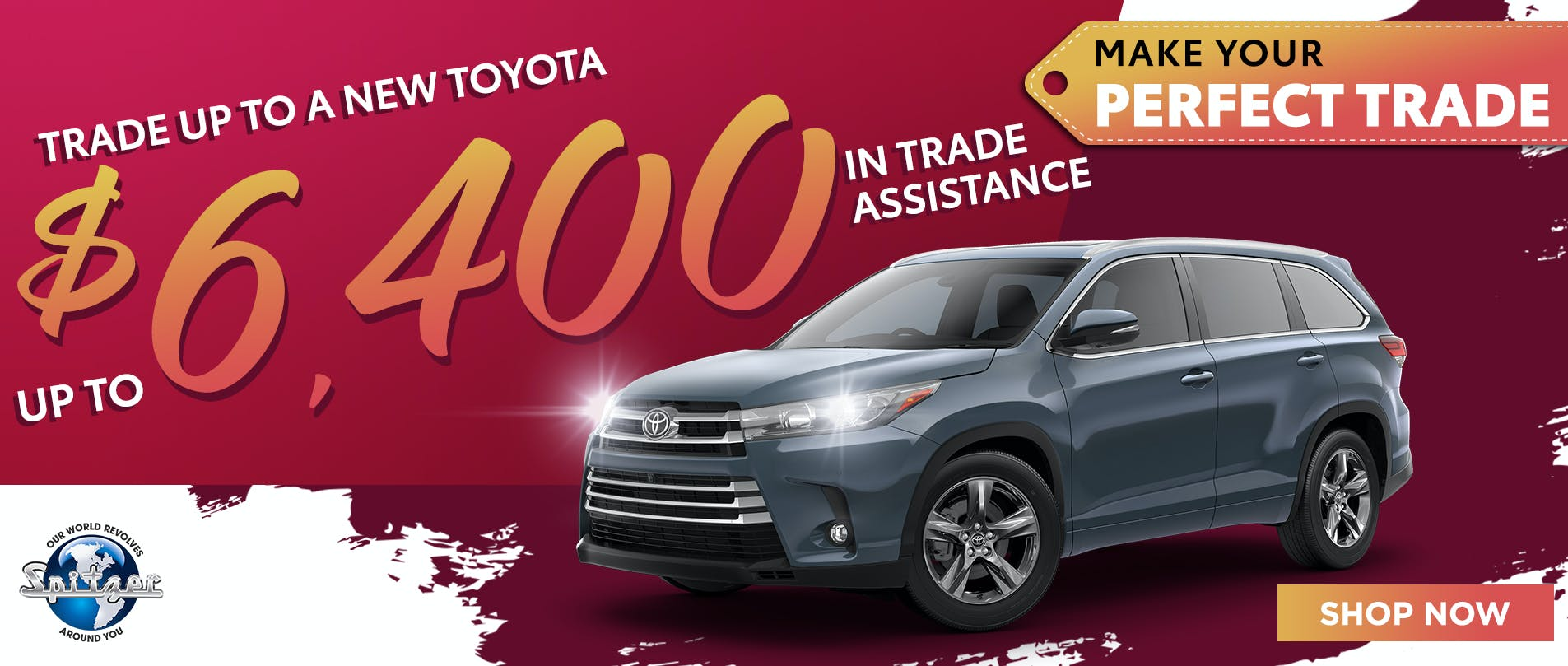 Recive up to $6400 in trade assistance