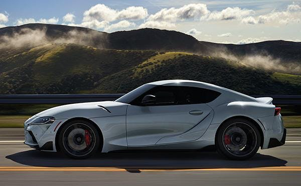 thrilling ride with the 2020 toyota supra - blog post image