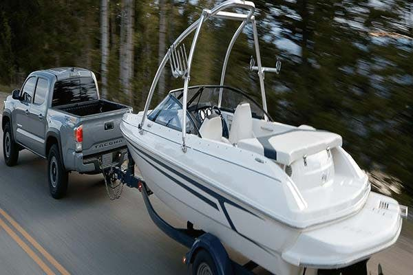 towing with the 2020 toyota tacoma - blog post image