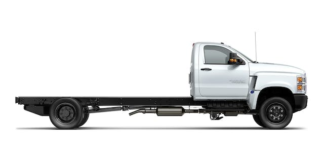 All-New Silverado Chassis Cabs