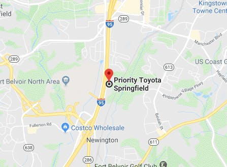 Priority Toyota Springfield Location