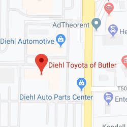 Diehl Toyota Map