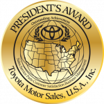 Loyalty Toyota- Presidents Award