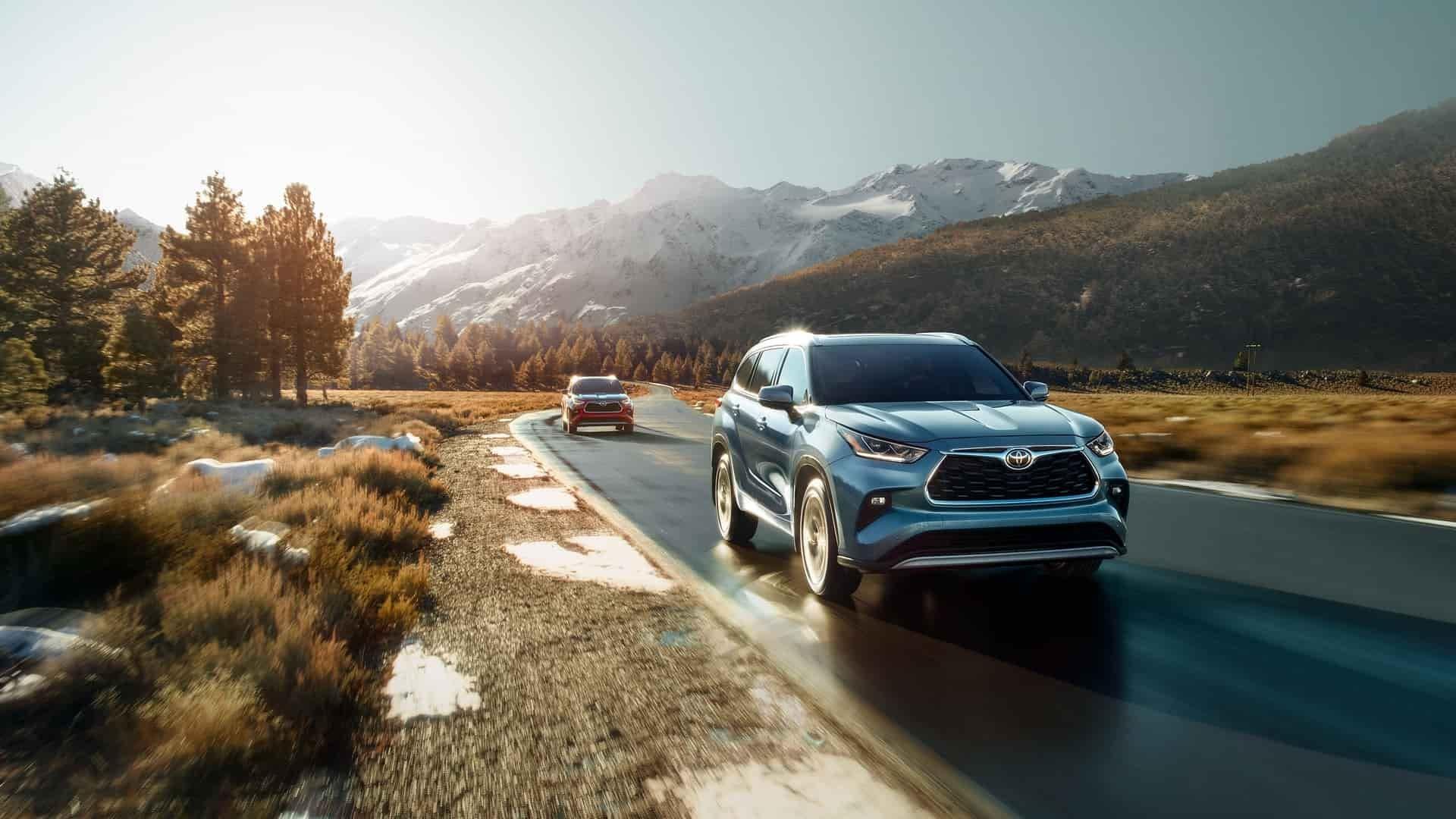 Buy a SUV Online 2020 Toyota Highlander Near Mercer PA