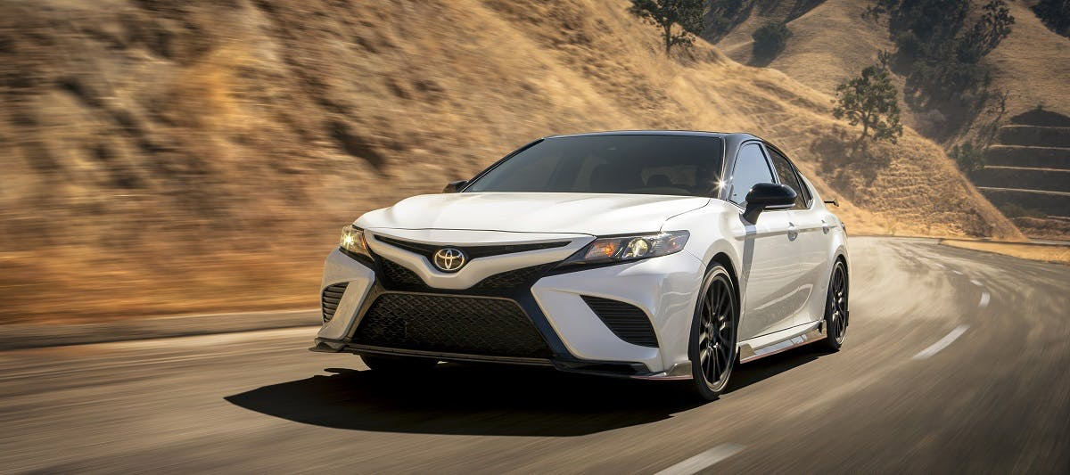 Research trim levels on a 2020 Toyota Camry near Pittsburgh PA