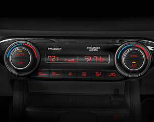 Dual Zone Automatic Temperature Control
