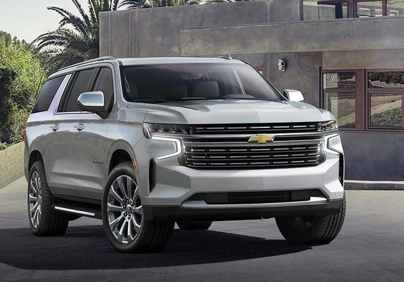 Check out the futuristic 2021 Chevrolet Tahoe in Boardman OH