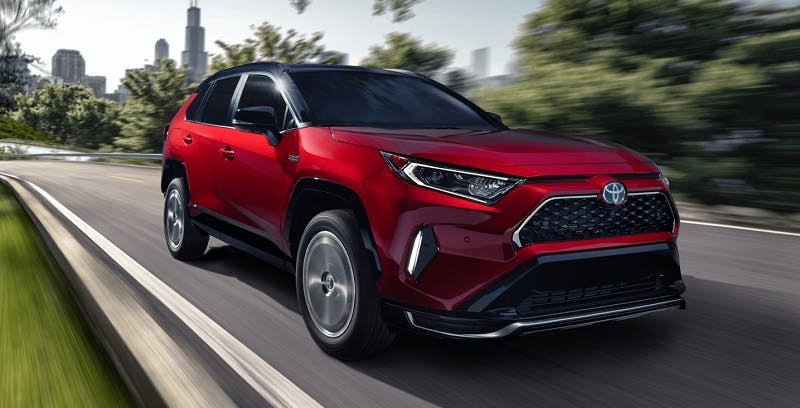 Explore the powerful 2021 Toyota RAV4 Prime in Boardman OH