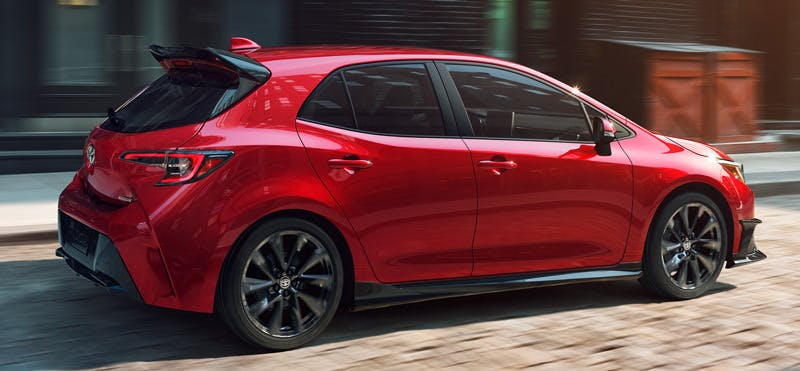 Taylor Toyota of Hermitage - The 2021 Toyota Corolla Hatchback is a lightweight car with lots of all-new technologies near New Castle PA