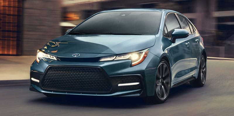 Taylor Toyota of Hermitage - The 2021 Toyota Corolla offers an efficient drive with premium amenities near Pittsburgh PA