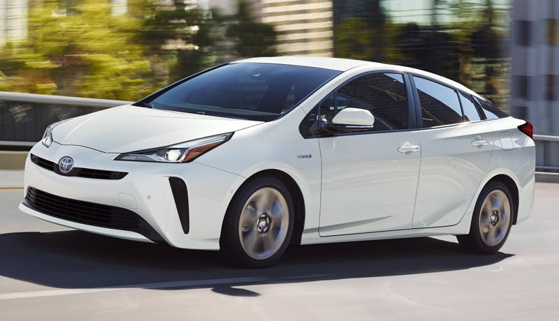Taylor Toyota of Hermitage - The 2021 Toyota Prius is one of the most efficient five-seat hybrid cars near Mercer PA