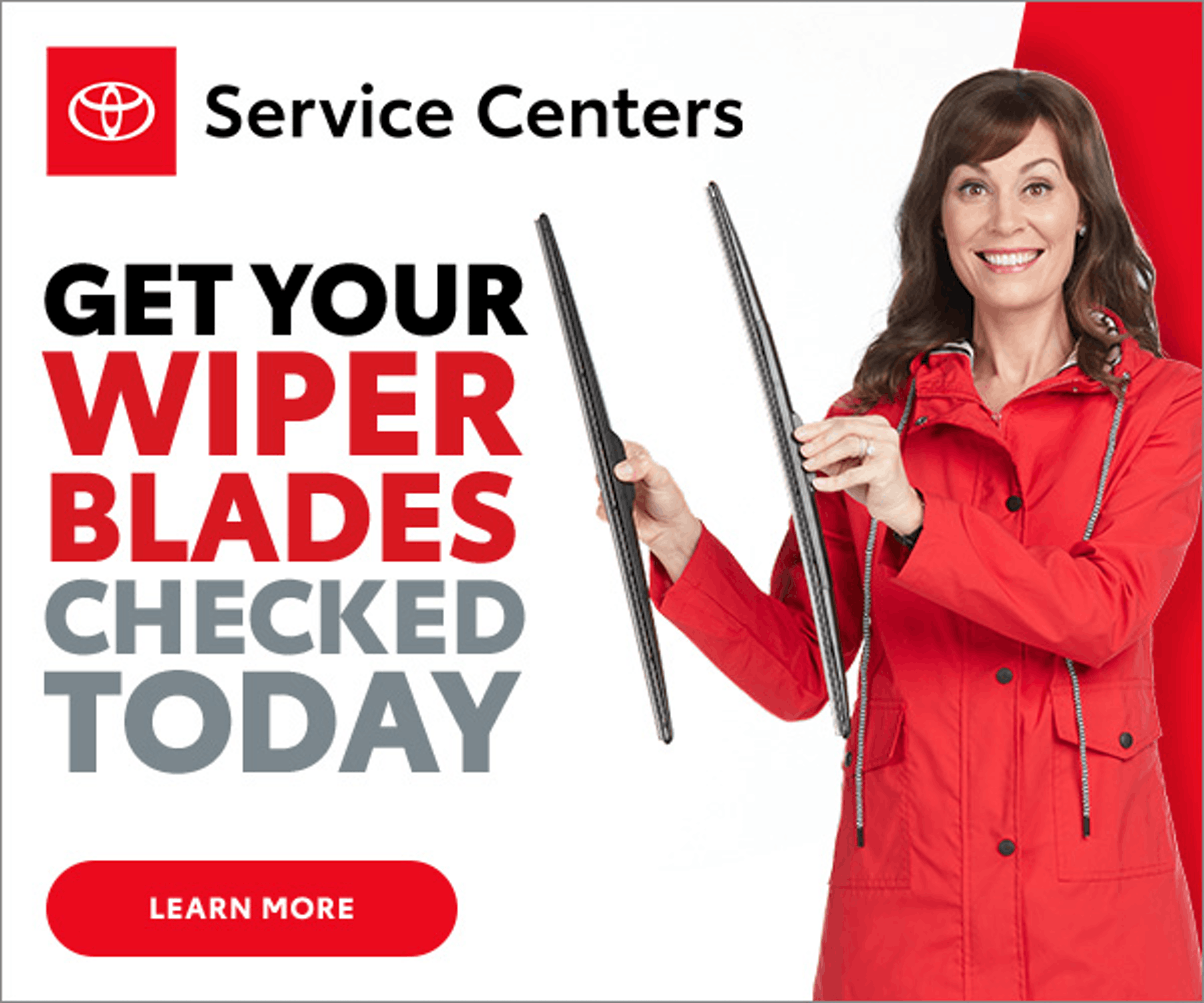 service special - get wiper blades checked