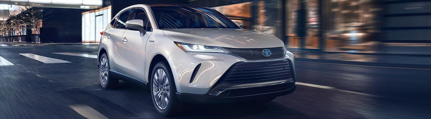 2021 Toyota Venza in motion - blog post