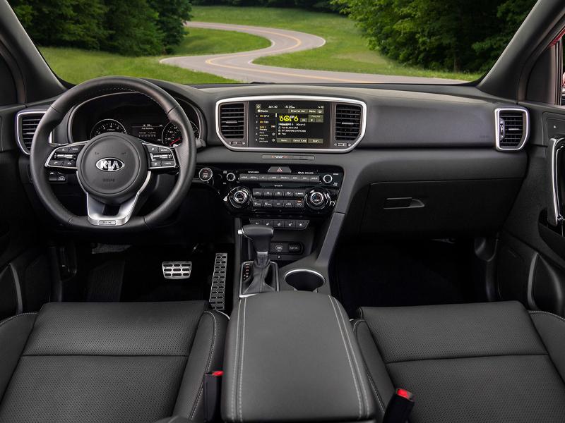 North Huntingdon PA - 2021 Kia Sportage's Interior