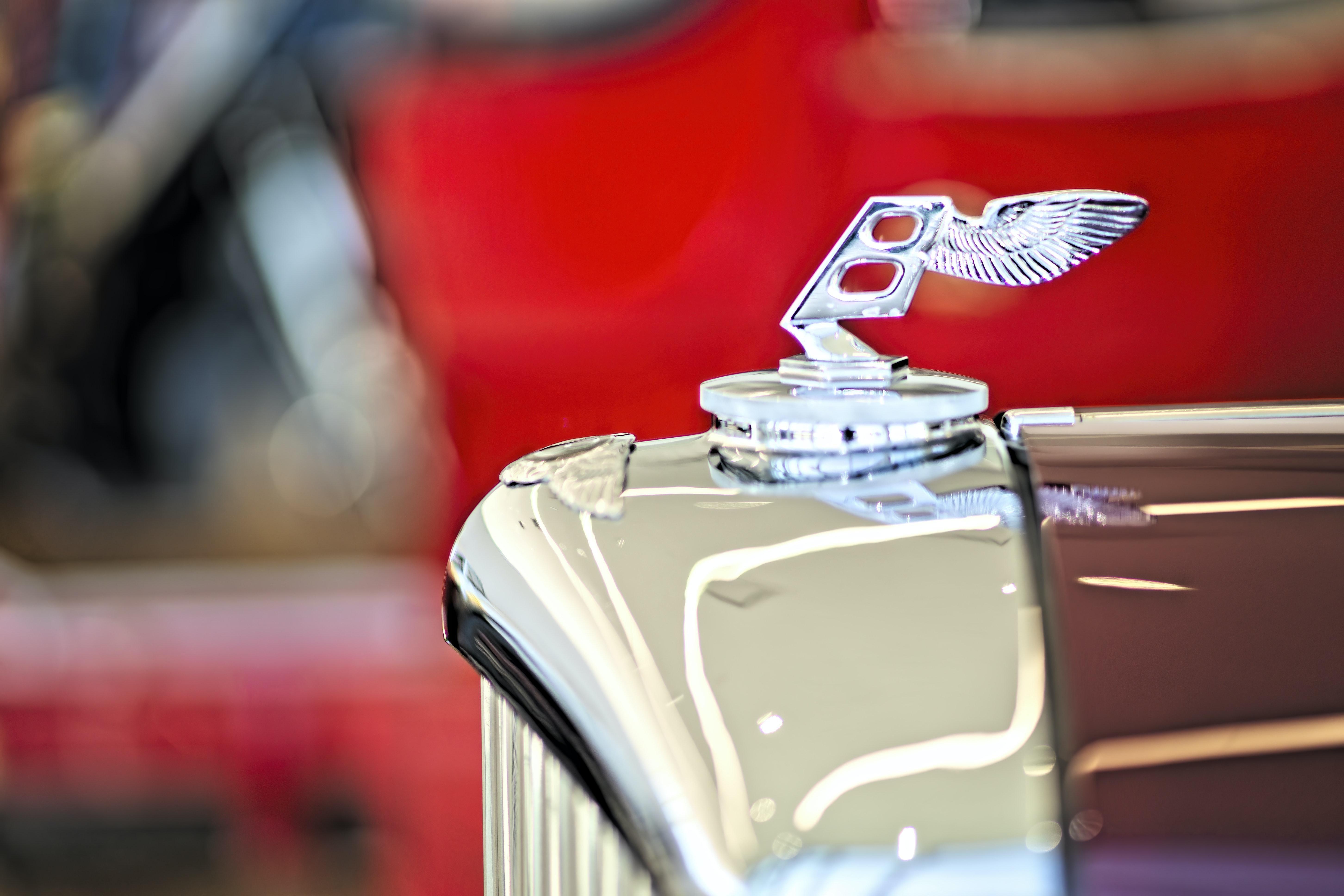 1952 bentley hood ornament