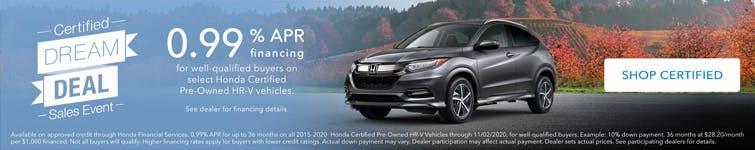Washington Honda CPO
