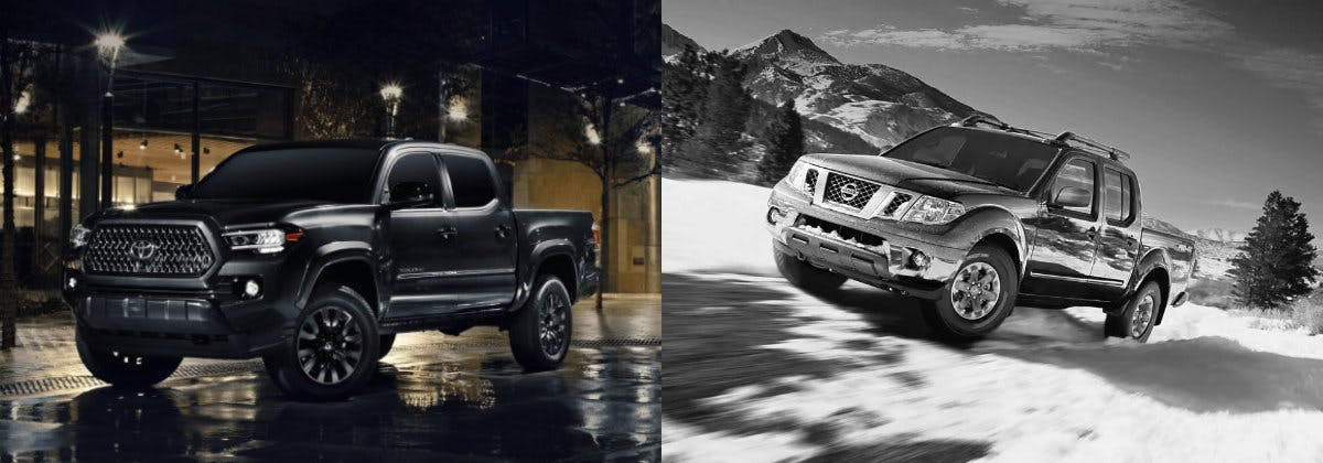 Taylor Toyota of Hermitage - Compare the 2021 Toyota Tacoma vs the 2021 Nissan Frontier near New Castle PA