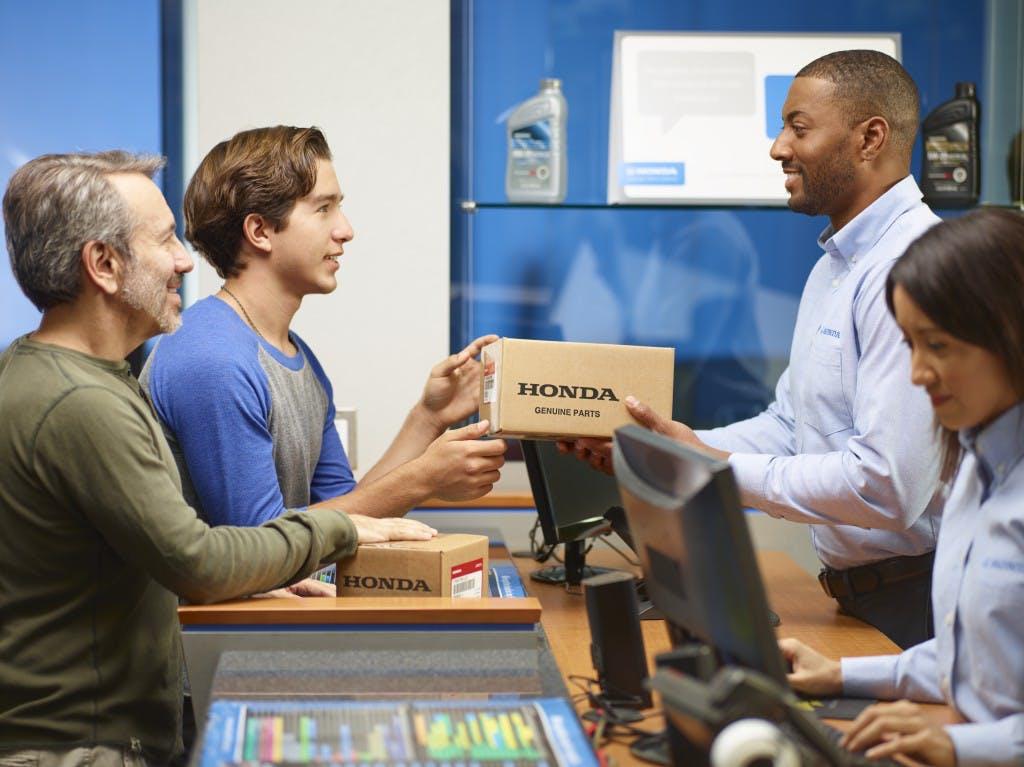 Washington Honda is a Honda Dealership near Arden, PA | Customers buying Genuine Honda Parts