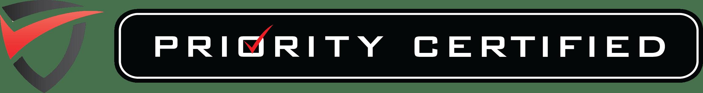 Priority Toyota Certified Horizontal Logo