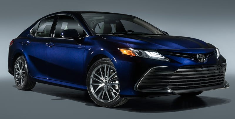 Taylor Toyota of Hermitage - The 2021 Toyota Camry has a quiet but powerful engine near Cortland OH