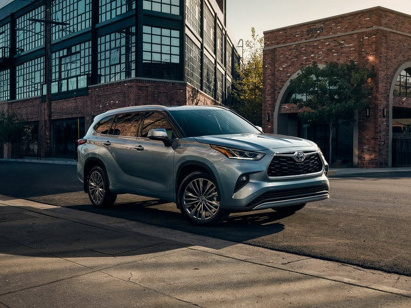 Taylor Toyota of Hermitage - You may want to consider the 2021 Toyota Highlander near New Castle PA