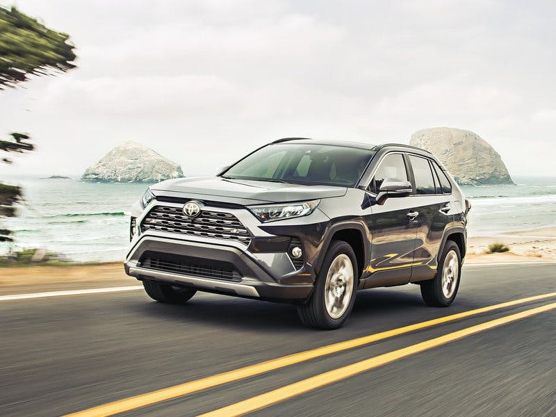 Taylor Toyota of Hermitage - The 2021 Toyota RAV4 is designed with some new features near Sharon PA