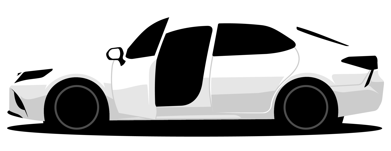 shopper express test drive car side view