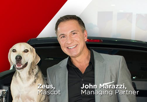 talk to john marazzi image with dog