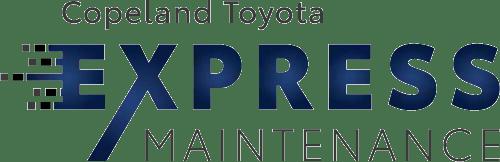 copeland toyota express maintenance logo