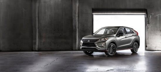 Blog post photo - standard features on the eclipse cross