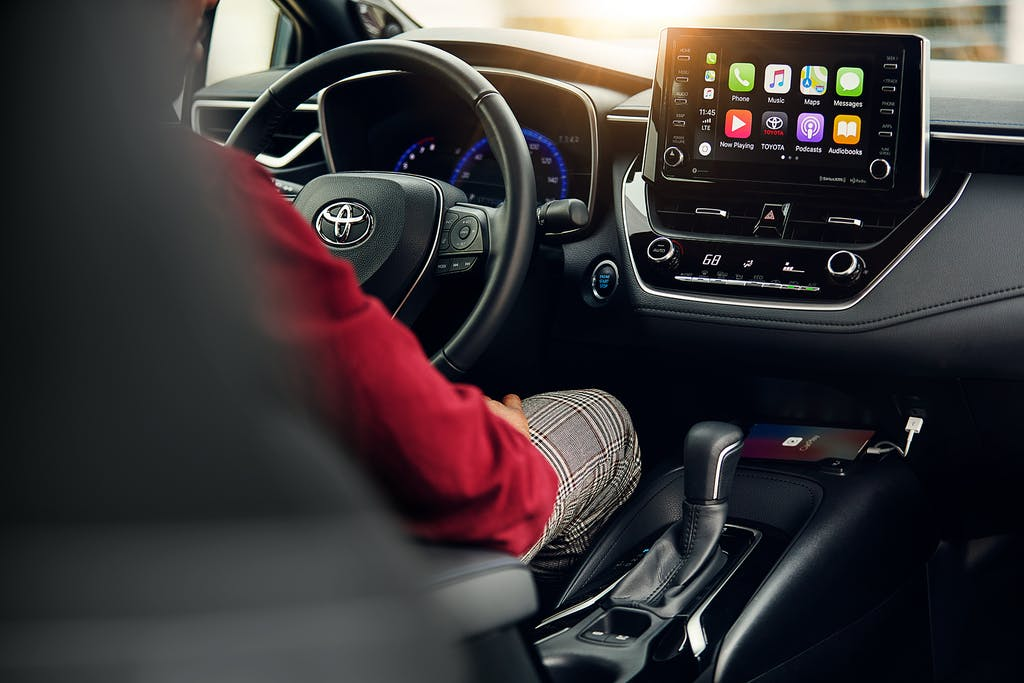 South Hills Toyota is a Toyota Dealership in Canonsburg near McGovern PA | 2020 Toyota Corolla Interior