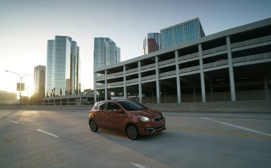 Blog post photo - standard features on the mirage