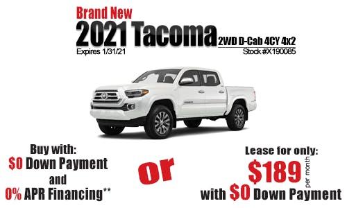 Tacoma Special Sun Toyota