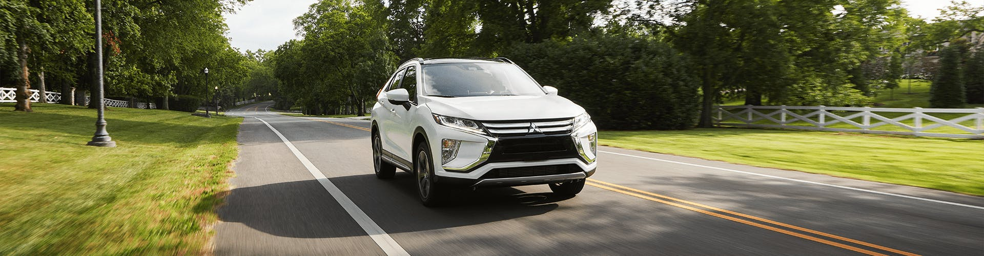 2020 eclipse cross - white exterior - banner image