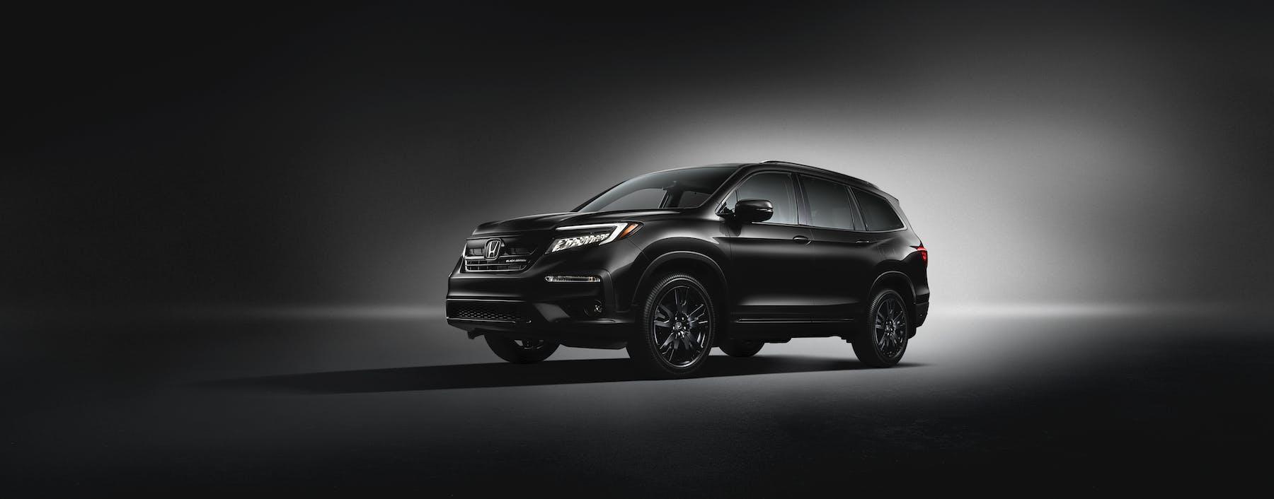 Washington Honda is a Honda Dealership near California, PA | 2020 Honda Pilot against black brackground
