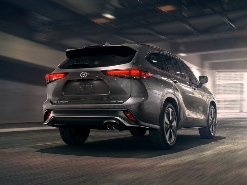 Taylor Toyota of Hermitage - The 2021 Toyota Highlander comes with a pre-collision system near New Castle PA