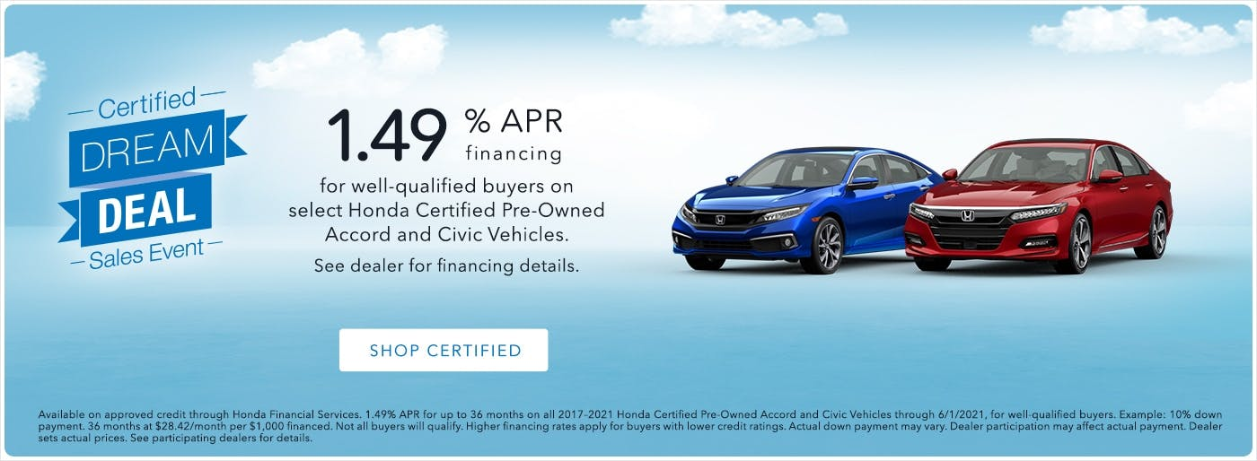 Washington Honda CPO