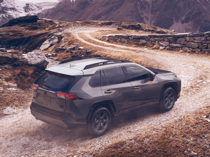 Taylor Toyota of Hermitage - The 2021 Toyota RAV4 can tackle tough terrain near Cortland OH