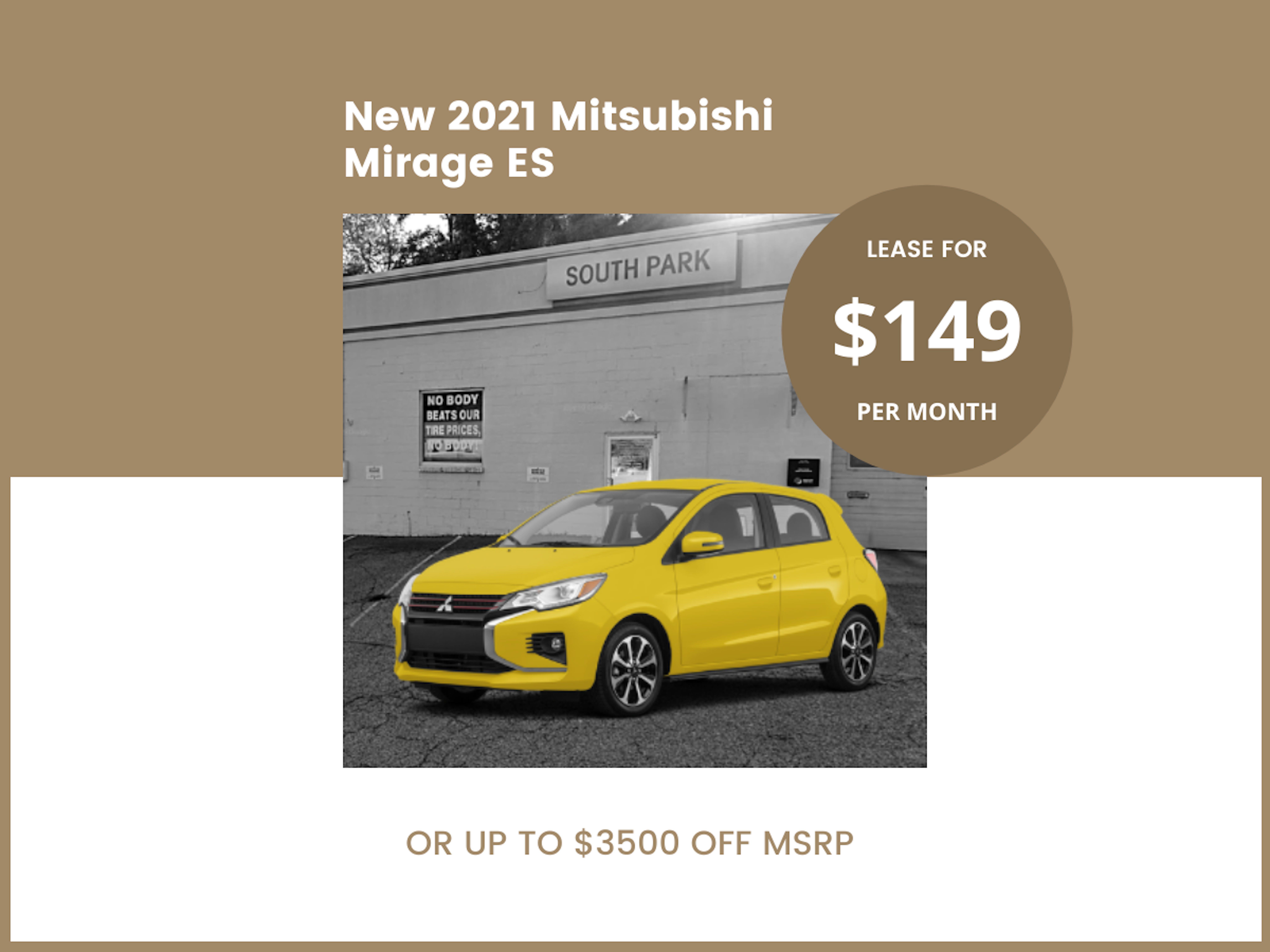 2021 NEW MITSUBISHI MIRAGE G4