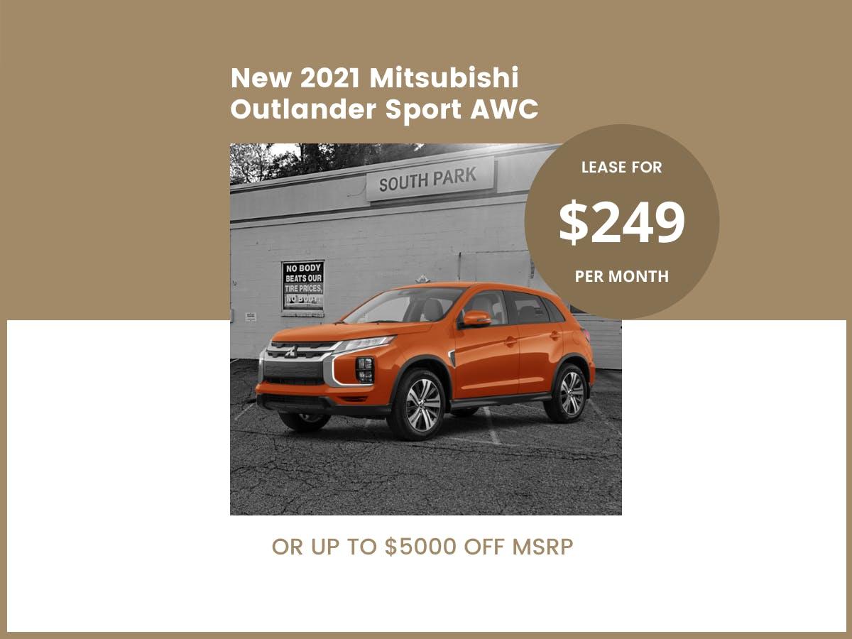 2021 Outlander Sport AWC