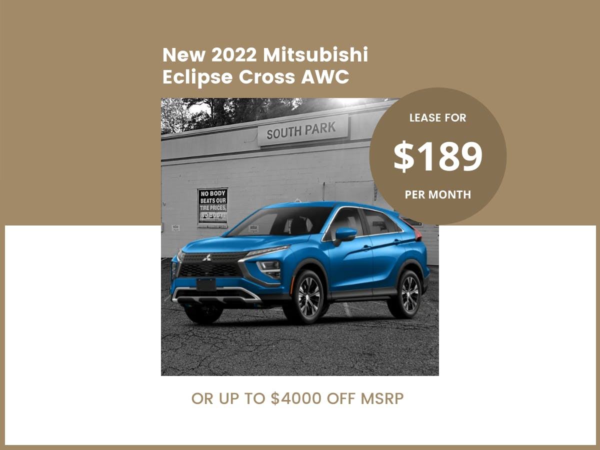 2022 Eclipse Cross AWC