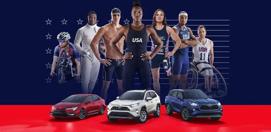 Team Toyota PROUD PARTNER OF TEAM USA