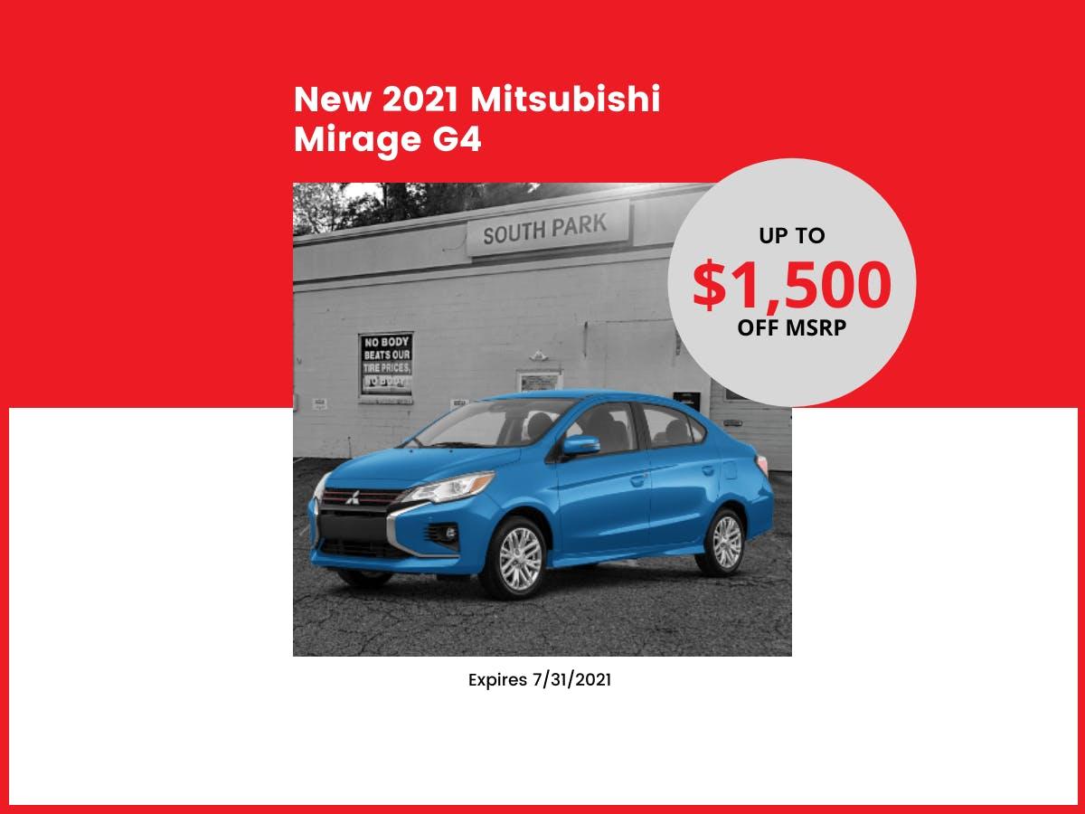 2021 Mirage G4