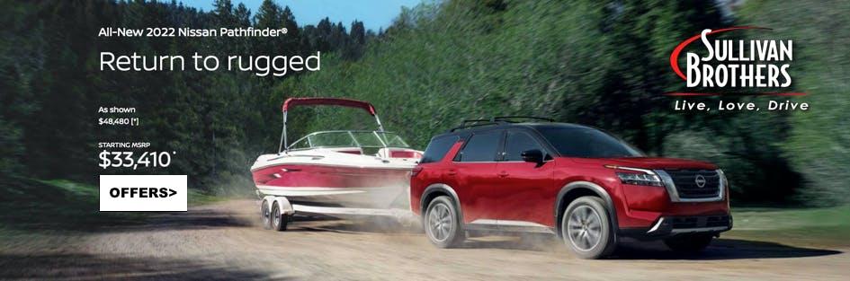 All New 2022 Nissan Pathfinder