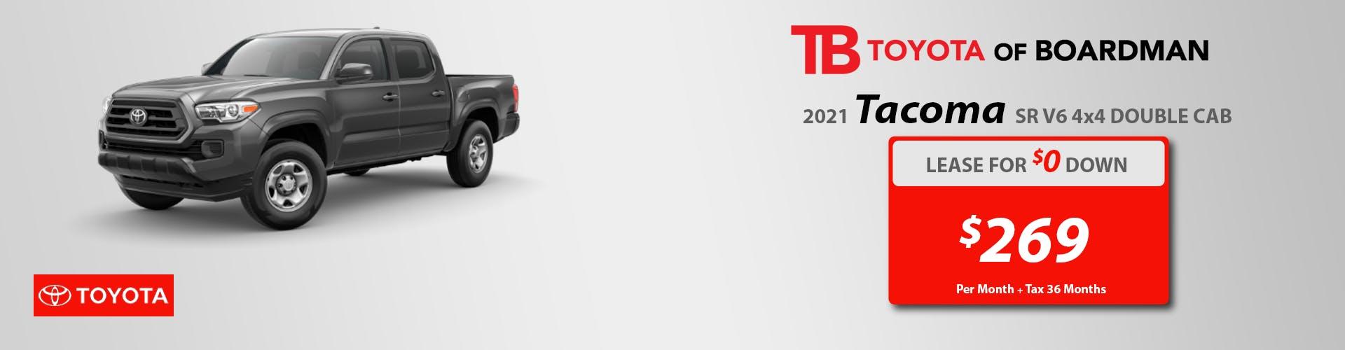 NEW 2021 TOYOTA TACOMA SR 4X4