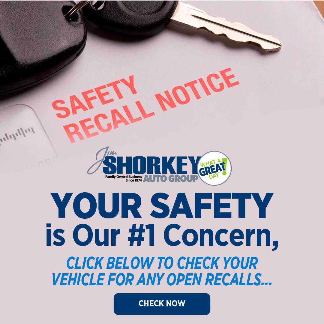 Safety Recall Notice!